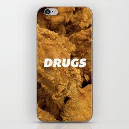 Fried Drugs iPhone Skin