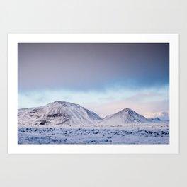 Ice & Fire 1 Art Print
