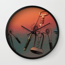 BOTTLE OPENERS Wall Clock