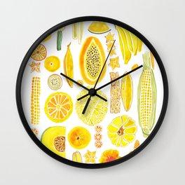 Eat the sunshine Wall Clock
