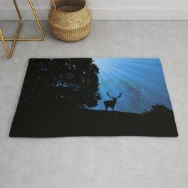 Moon & Deer - JUSTART © Rug