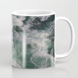 Ocean Waves Ariel View | Sea | Water Photography Coffee Mug