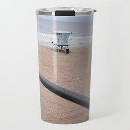 The Rails of Sand Travel Mug