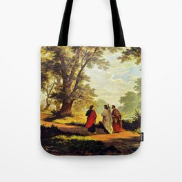 Road To Emmaus Tote Bag