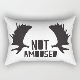 Not Amoosed Rectangular Pillow