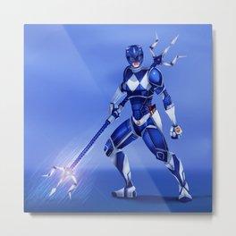 Blue Ranger Metal Print