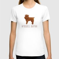 brussels T-shirts featuring Brussels Griffon by 52 Dogs