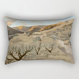 Cottonwood Canyon State Park Rectangular Pillow
