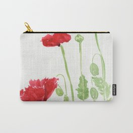 Blooms and Buds Carry-All Pouch
