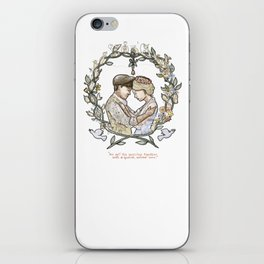 "Illustration from the video of the song by Wilder Adkins, ""When I'm Married"" (no names on it) iPhone Skin"