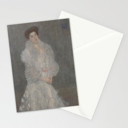 Portrait of Hermine Gallia Stationery Cards
