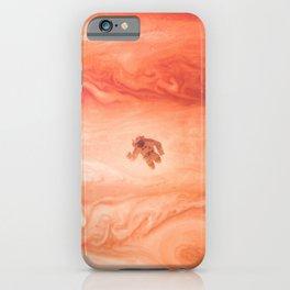 Gone Astronaut iPhone Case