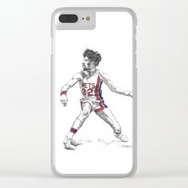 Dr. J Clear iPhone Case
