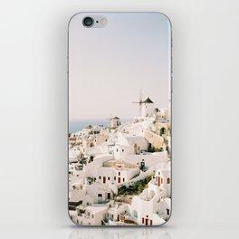 Santorini Sunset iPhone Skin