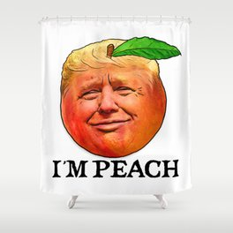 ImPeach Trump Shower Curtain