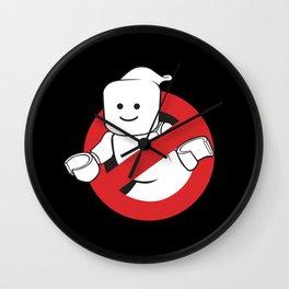 No Ghosts Wall Clock