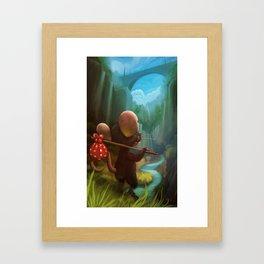 traveler mouse Framed Art Print