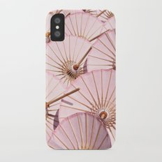 Umbrellas iPhone X Slim Case