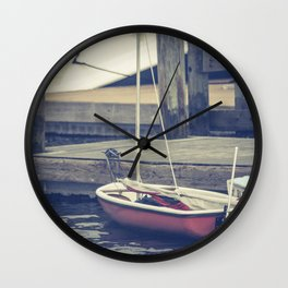 Smell the Sea Wall Clock