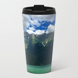 Mountain and Lake Travel Mug