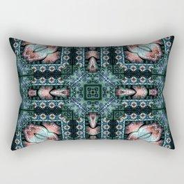 Victorian Art Deco Medieval Pattern SB29 Rectangular Pillow