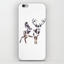 deer & owl iPhone Skin