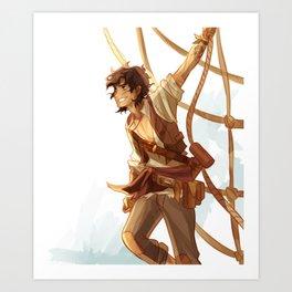 pirate leo Art Print