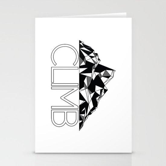 Climb Stationery Cards