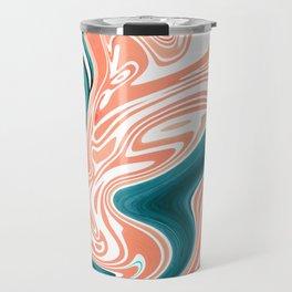 Melted Azur Travel Mug