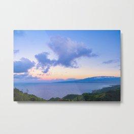 Sunset at Waiokila Gulch 01 Metal Print