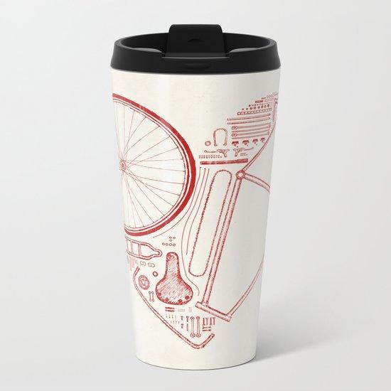Love Bike Metal Travel Mug