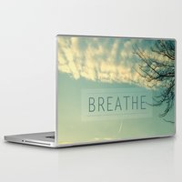 breathe Laptop & iPad Skins featuring Breathe by Sandra Arduini