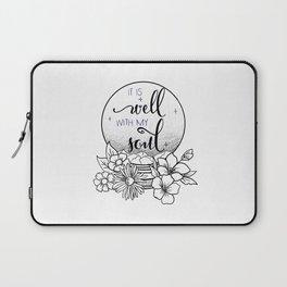 It is Well Laptop Sleeve