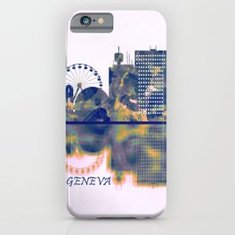 Geneva Skyline iPhone Case