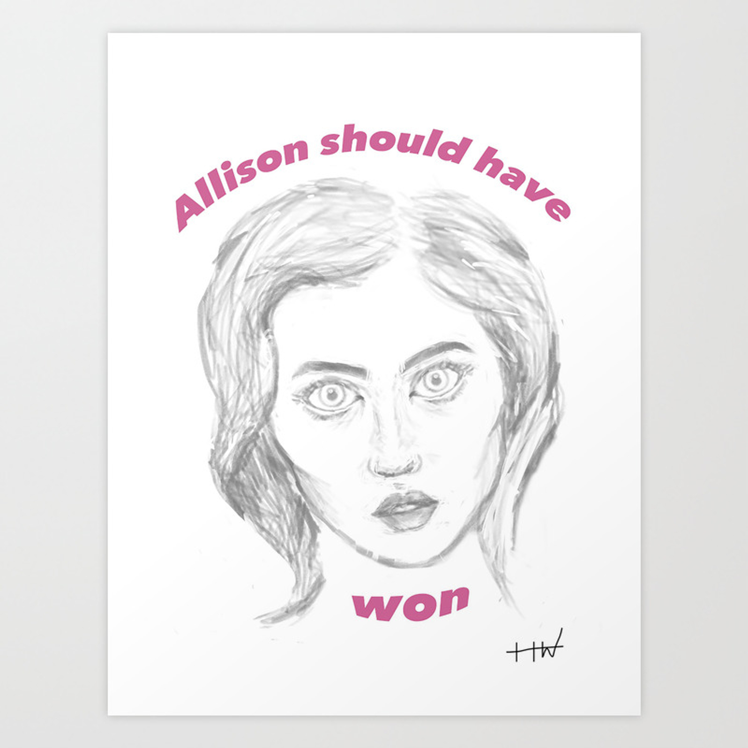 Allison Antm allison harvard art print