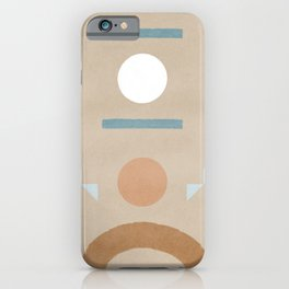 Pinball Minimal boho and also geometric iPhone Case
