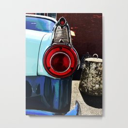 Tail Light Envy Metal Print