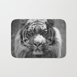 The eye of the tiger II (vintage) Bath Mat