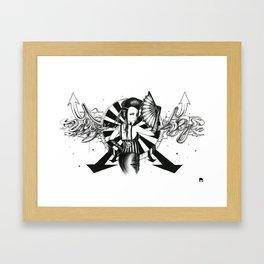 Midnight Carnival Framed Art Print