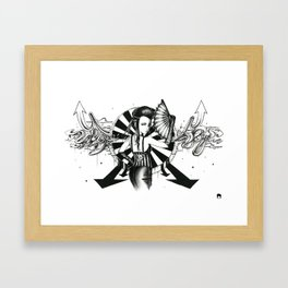 Midnight Carnival Framed Art Print