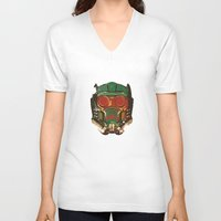 star lord V-neck T-shirts featuring Star Lord by R. Cuddi