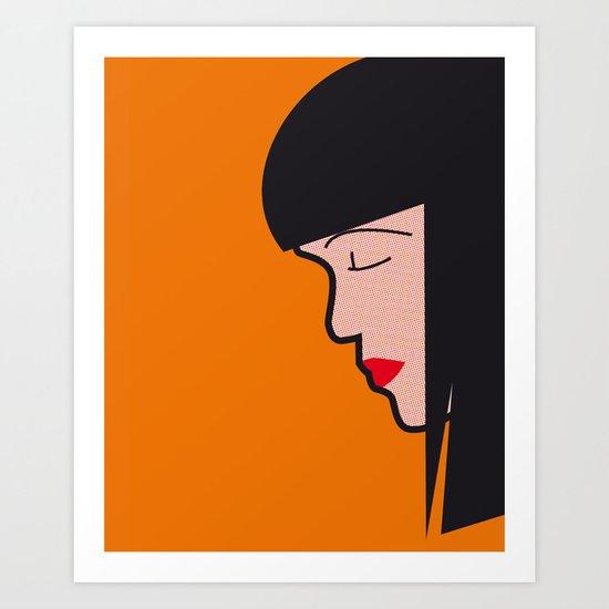 Pop Icon - Mia Art Print