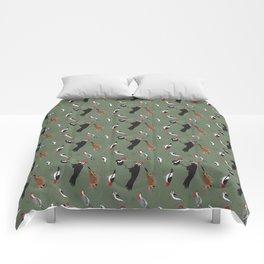 North American Woodpeckers - Green Comforters