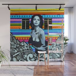 Painted Lady Wall Mural