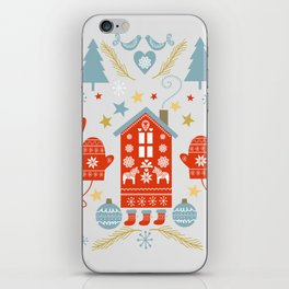 Laplander Winter Holiday iPhone Skin