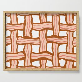Bacon weave Serving Tray