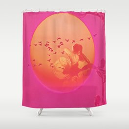 Sun Crossing Shower Curtain