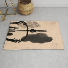 ride on the clouds Rug