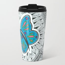 Butterfly-tangle Travel Mug