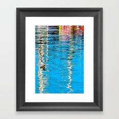 Harbor Watercolors Framed Art Print